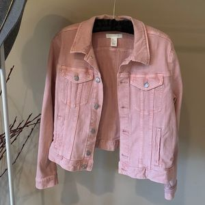 Light Pink H&M Jean Jacket
